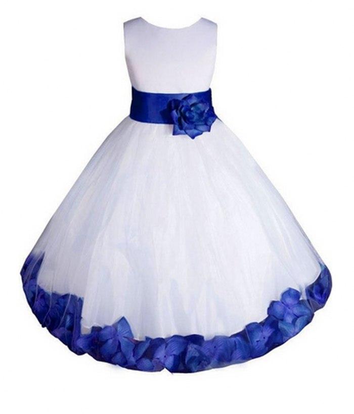 Azul branco e real