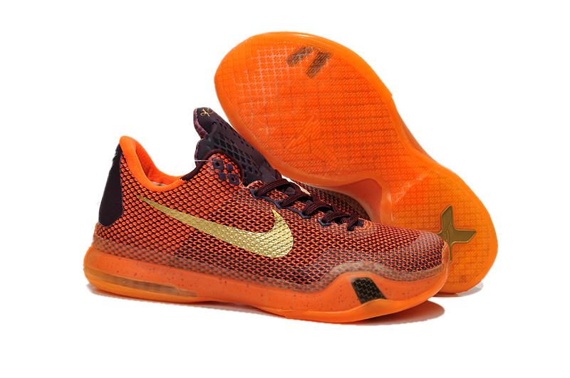 Kids Youth Nike Kobe 10 Low Flyknit Kobe Bryant 10 X