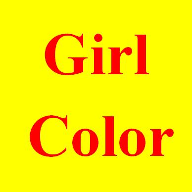 girls colors