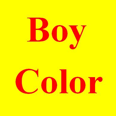 boys colors