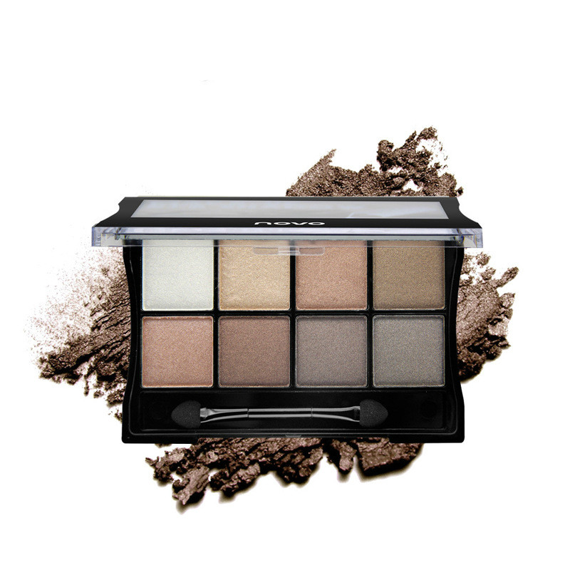 Wholesale Natural Composites - NOVO 8 colors Eyeshadow Palatte Makeup Eye Shadow Cosmetics Composite Shadows Palettes Smoky Eyes Earth Color