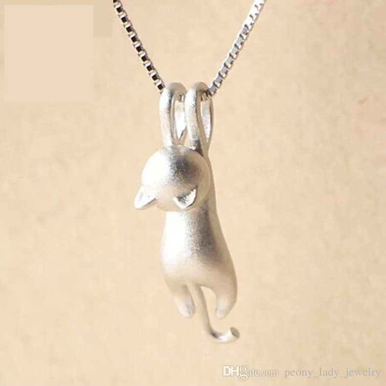 Matte pendant with a chain
