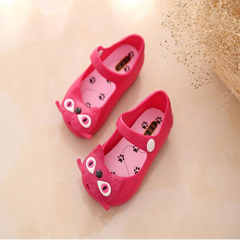 Summer Baby Shoes Kids Girl Sandals Sweet Cat Buckle Strap ...