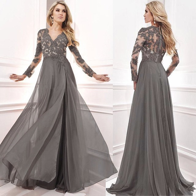 2016 Mother Off Bride Dresses Plus Size Beaded Evening