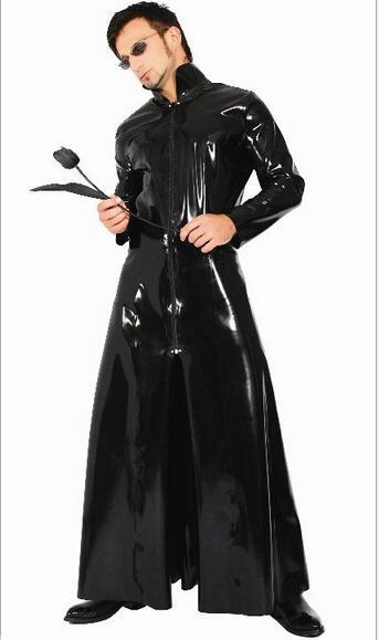 The Matrix SOMENTE windcoat para homens