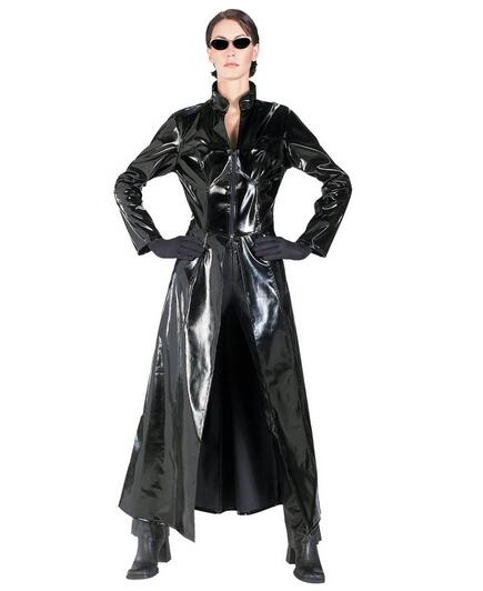 The Matrix Só windcoat por Mulheres