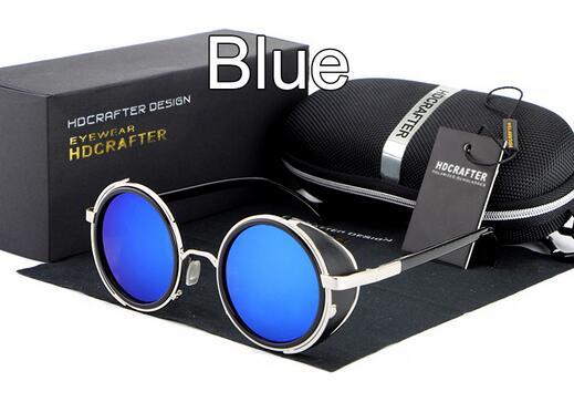 lente blu-argento