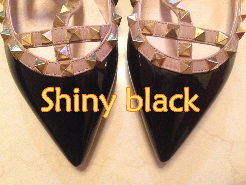 glänzend schwarz