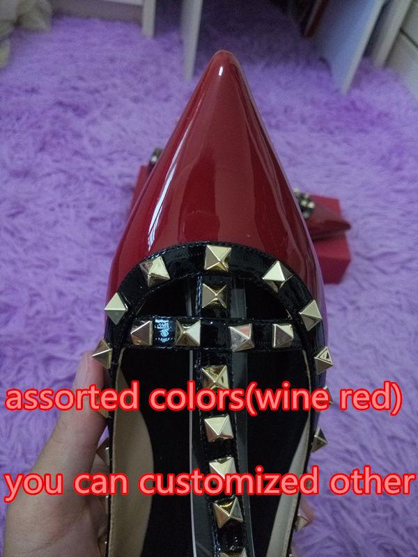 rot mit schwarz