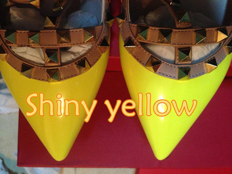 leuchtend gelben