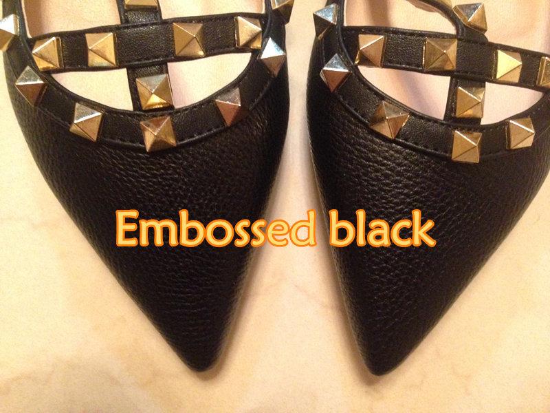 schwarz Leder