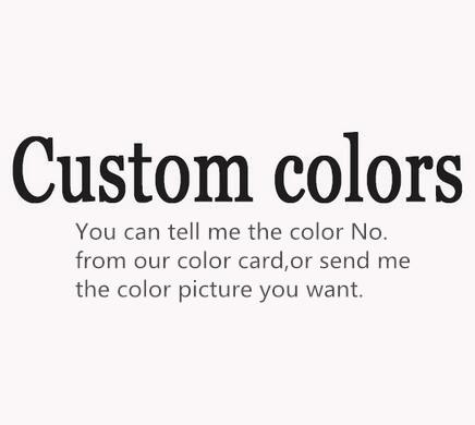 qualsiasi colore come volete