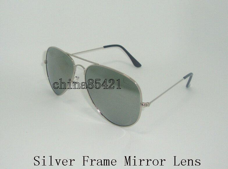 Silver Frame-Spiegel-Objektiv