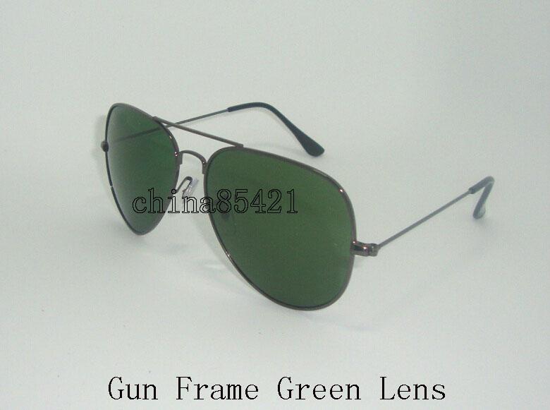 Gun-Rahmen Grün Objektiv