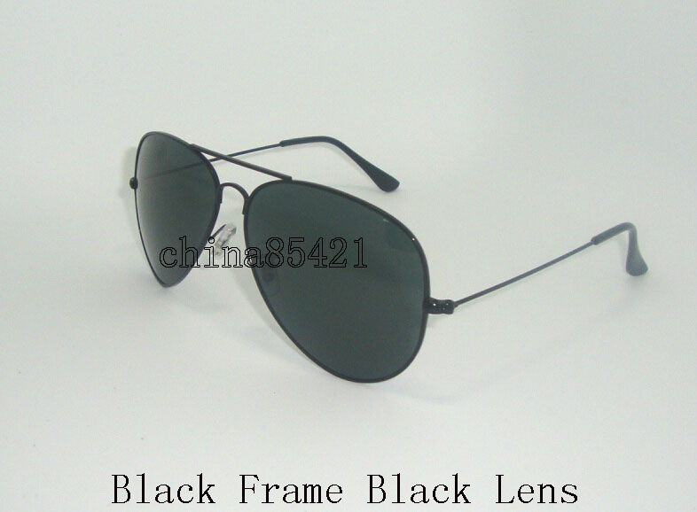 Black Frame Black Gläser