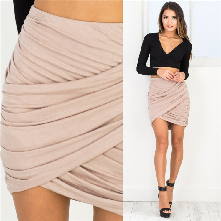 2018 Sexy Night Club Dresses Party Womenu0026#39;S Skirts Dress Ladies Clothing Garment Hip Package ...