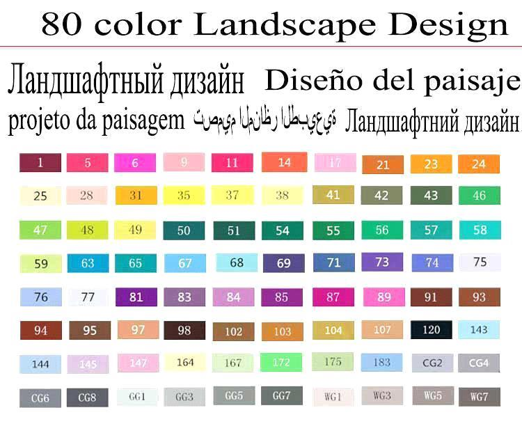 80 progettazione del paesaggio nero