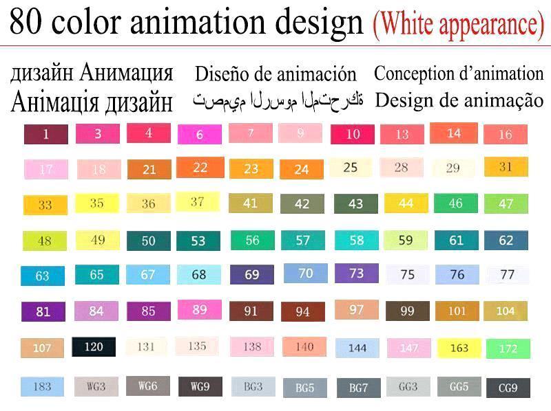 80 Animazione Bianco