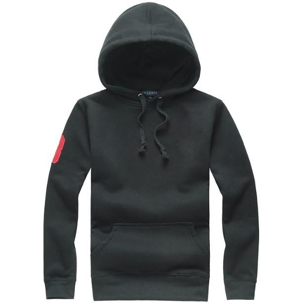 Logotipo preto e vermelho