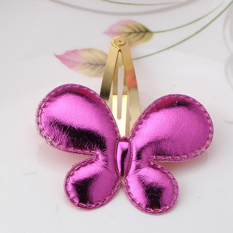 mariposa rosa roja
