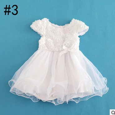 Girls Pageant Dress Lace Baby Princess Flower Dresses