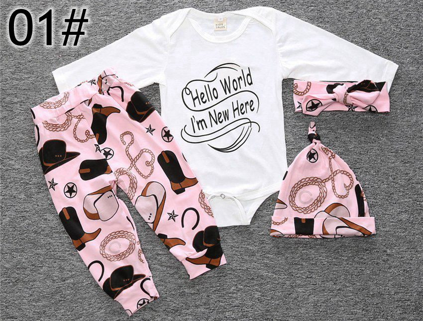 2019 2017 Xmas Ins Set Baby Boys Girls Take Home Outfit