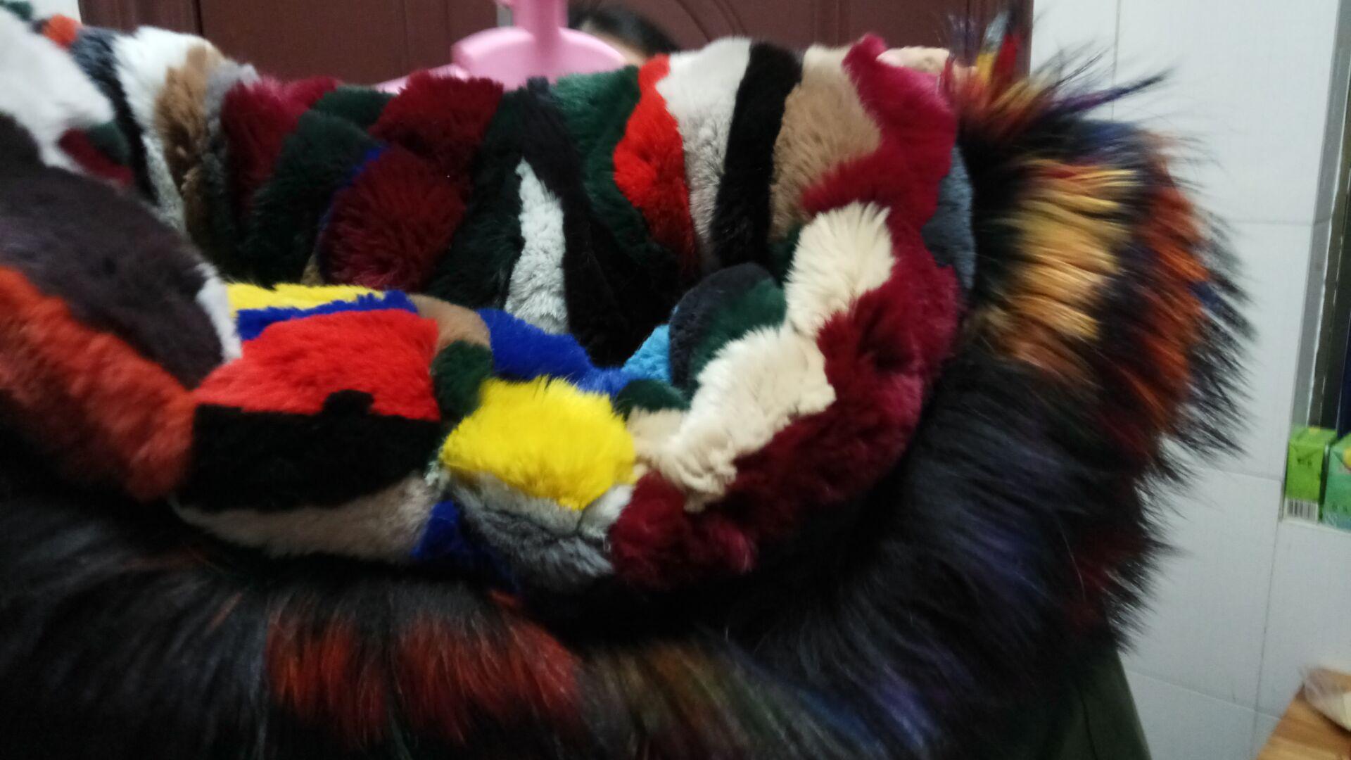Multicolore pelliccia 1