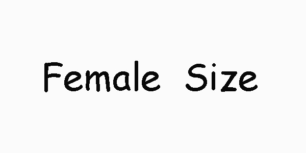Female Size