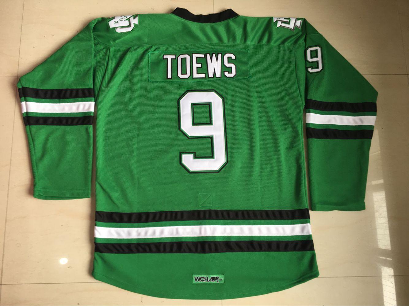 9 Jonathan Toews grün