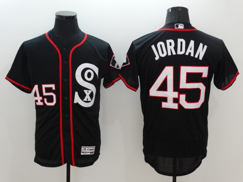 Chicago White Sox  45 Michael Jordan Gray Throwback Jersey  PBENZ109218983565758 90e7516ad