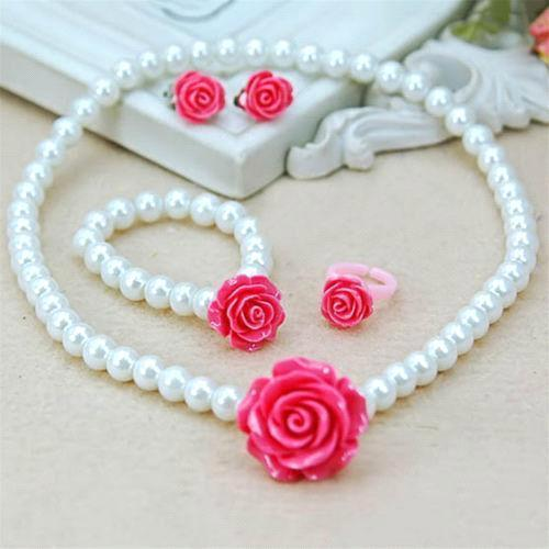 Rose Red + blanco