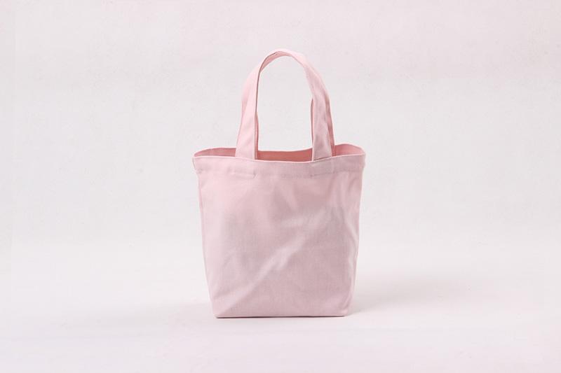 New Flap Lunch Bag Mini Cloth Plain Cotton Canvas Cosmetic