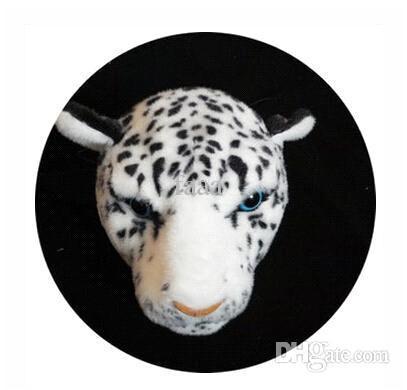 white Leopard wallet