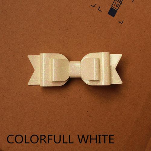 farbenfrohes weiß
