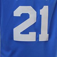 Maillot bleu 21 #