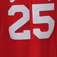 25 # Maillot rouge