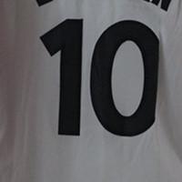 10 # Jersey branco