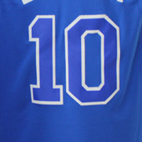 10 # Blue Jersey