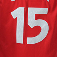 15 # Red Jersey