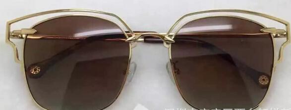 Christian Brand Sunglasses Prism Effect Vintage Retro