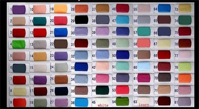 Sonderanfertigungen von Farbkarte