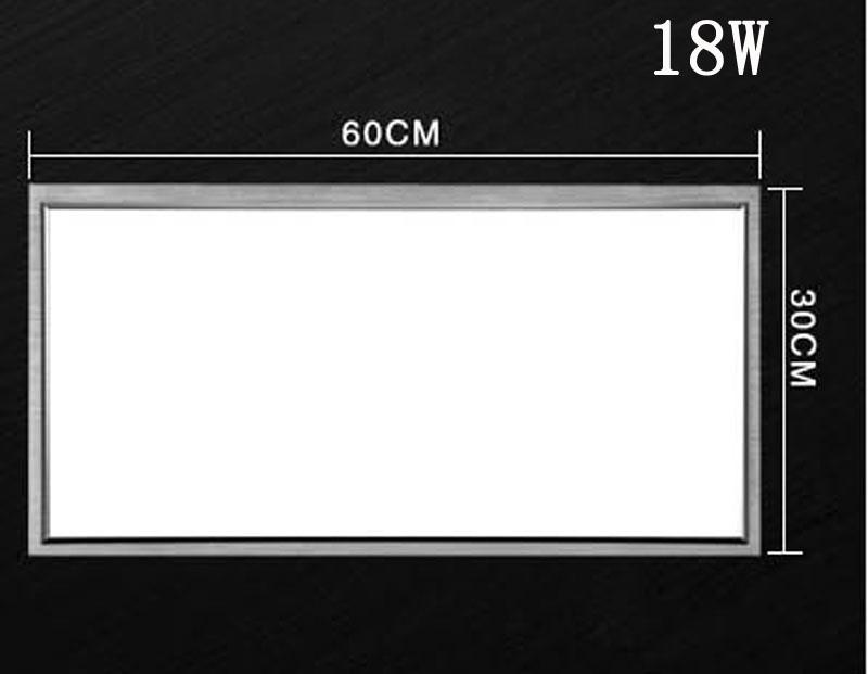 300 millimetri * 600mm 18W