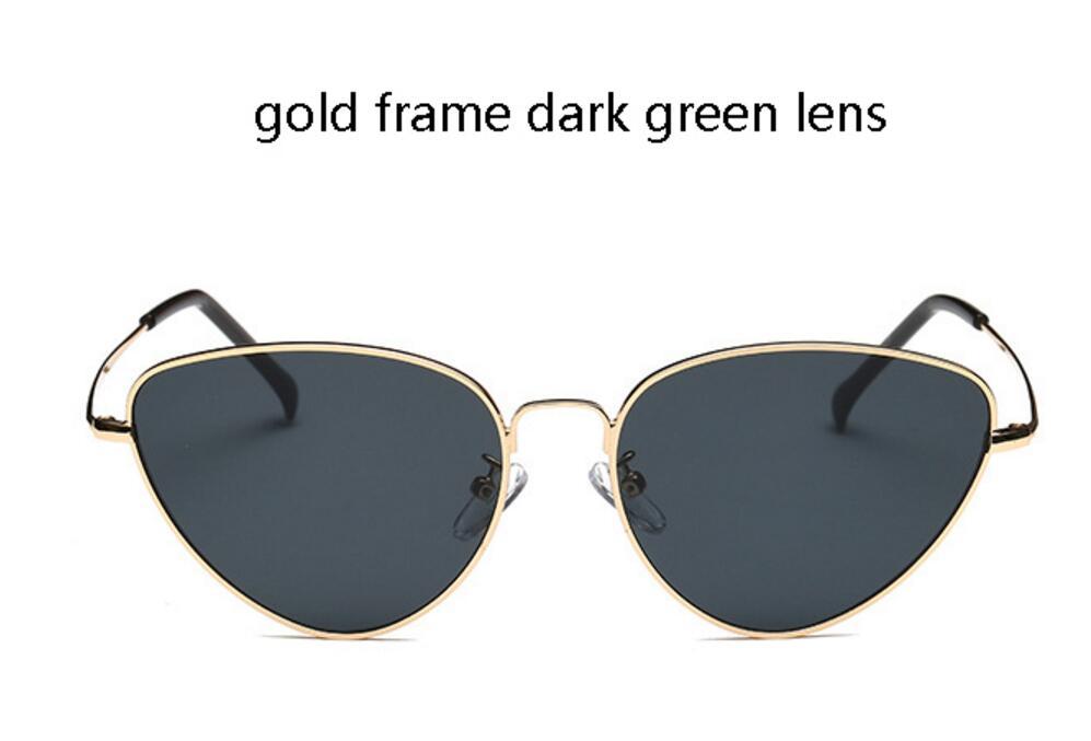 lente verde scuro