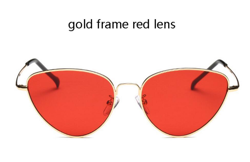 lente rossa