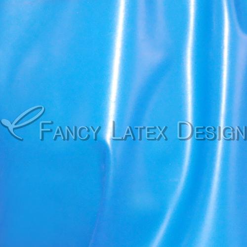 Прозрачный синий с белым