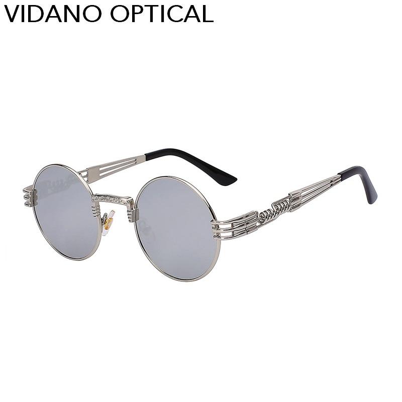 Silver Frame Silver Mirror Lens
