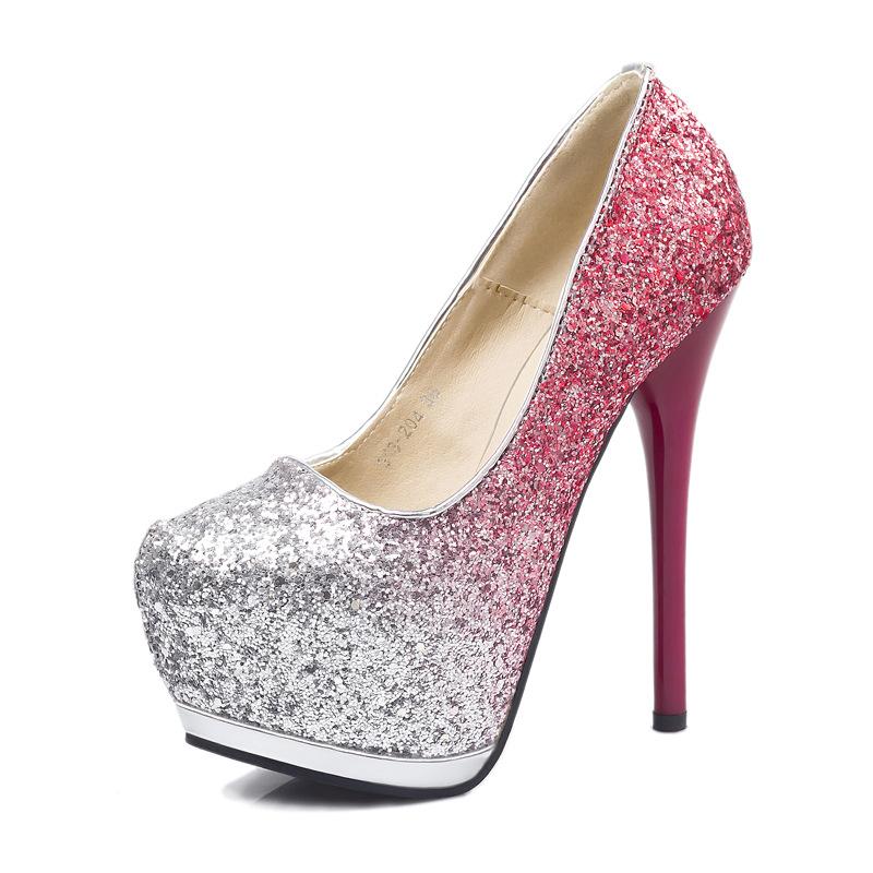 Ch Agne Color Wedding Shoes 004 - Ch Agne Color Wedding Shoes