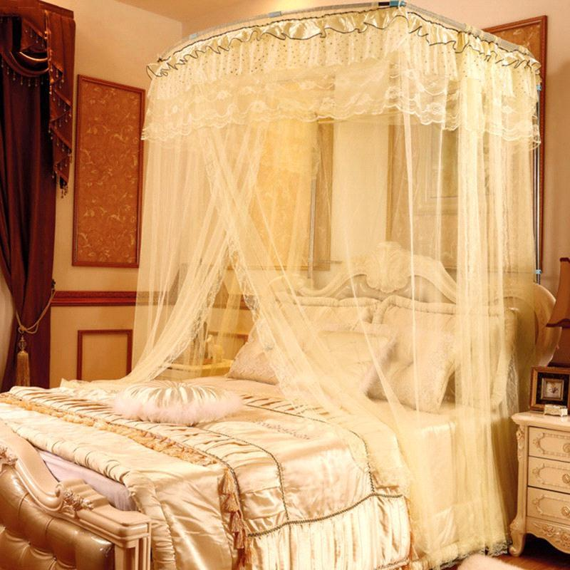 High quality home textile palace mosquito net three door - Bed canopies for adults ...