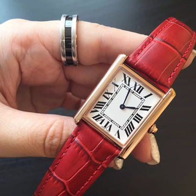 Red With Rosegold