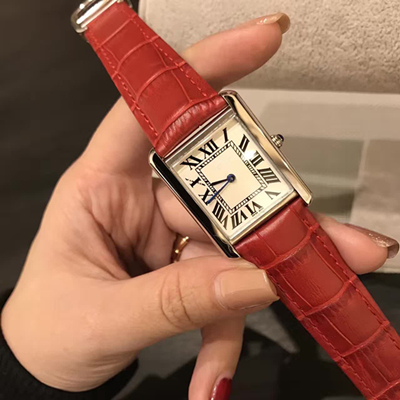 Red With Silver